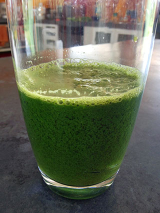 Yummy green drink