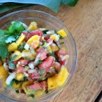 Avocado Salsa with Mango