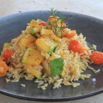Rosemary Veggie Farm Rice