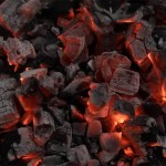 Charcoal from wood - (Carbon)