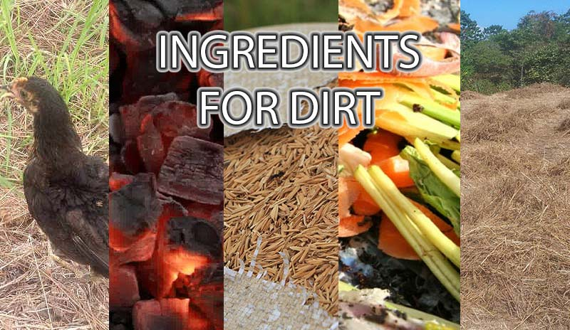 Ingredients for Making Dirt