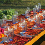 Beautiful Table Setting with Guatemalan Placemats