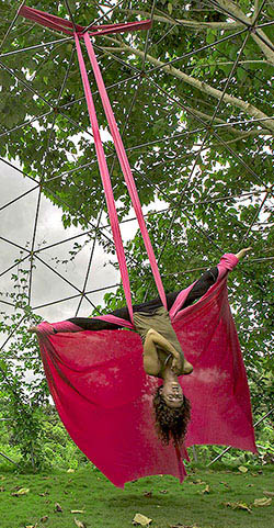Aerial Silk Retreat Leader